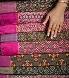 Khmer kramas cant wait to present some of my friends with cambodian ikat is a weft ikat woven using a multi shaft loom it has an malvernweather Choice Image