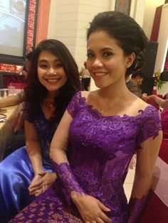 #purple #kebaya