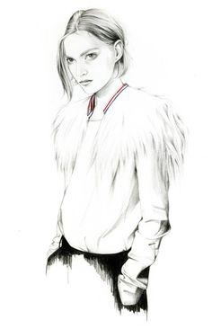 Caroline Andrieu Fashion Illustrations [update] | Trendland: Fashion Blog & Trend Magazine