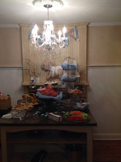 Lots of yummy food thanks Rene and Niki
