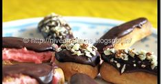 Eclairs - from the name of the recipe when I heard from Swathi for this month's Baking partners  challenge, I thought we were going to do a...
