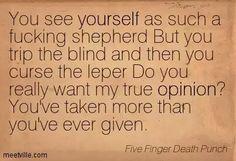 ~Generation Dead (Five Finger Death Punch)