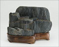 suiseki stones | Suiseki, SoggyKnees Viewing Stones Photographs 5th (10/1/12)