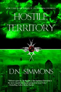 Hostile Territory by D.N.Simmons: http://thereadingcafe.com/d-n-simmons-desires-unleashed-blog-tour-and-giveaway/
