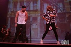 Zendaya and Val performing in SWAY: A Dance Trilogy at The Space at Westbury in Westbury, NY