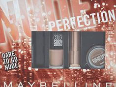 MAYBELLINE Nude Perfection Makeup Set RRP £15.00 | Now £9.99 – Save £5 (33%) http://tidd.ly/bf6a353e