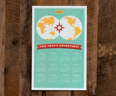 They're Here! 2014 Calendars Part 1