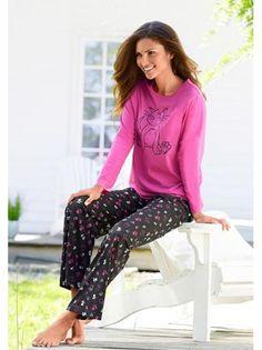 Pijama largo 2 piezas mujer de VIVANCE DREAMS