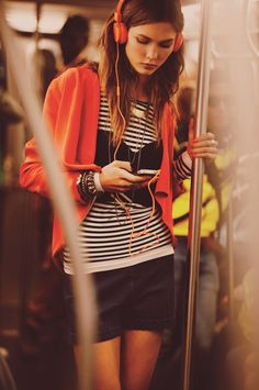 Karlie Kloss for Free People January 2012 by Guy Aroch