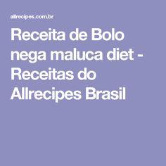 Receita de Bolo nega maluca diet - Receitas do Allrecipes Brasil
