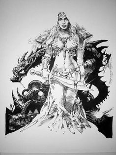 Red Sonja by Tony De Zuñiga
