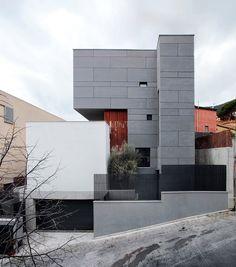Arquitetura à mão!: Casas em terrenos inclinados