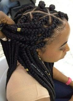 Jumbo Box Braids #braids #boxbraids #jumboboxbraids #protectivehairstyles