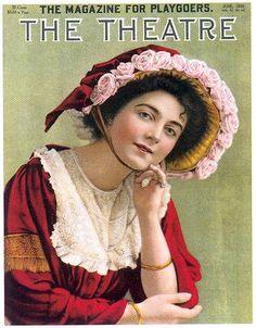 """""""The Theatre"""" magazine cover, June 1910"""