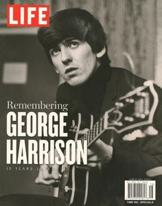 steel-and-glass:    For more scans of the last issue of LIFE about George Harrison, join here