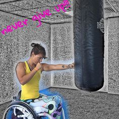 >>> See it. Believe it. Do it. Watch thousands of spinal cord injury videos at SPINALpedia.com Spinal Cord Injury, Stay Fit, Women Empowerment, Amazing Photography, Athlete, Health Fitness, Exercise, Workout, Watch