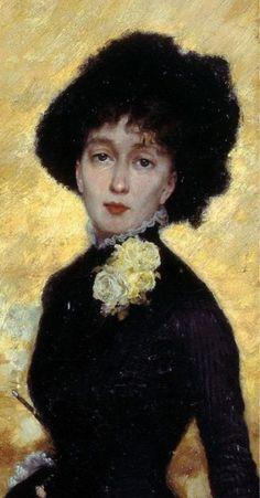 Giuseppe de Nittis (1846-1884), Il salotto della Principessa Matilde, 1883