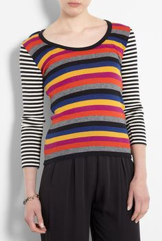 Multicoloured Striped Jumper by Sonia By Sonia Rykiel