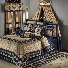 Fleur De Lis Bedding | Regal Empire Comforter Bedding