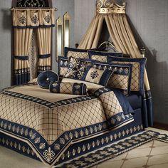 Fleur De Lis Bedding Regal Empire Comforter Bedding