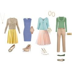 """""""Business Casual- Spring"""" by kaulmeash on Polyvore"""