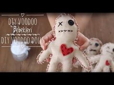 DIY Voodoo Bebekleri | DIY Voodoo Dolls - YouTube