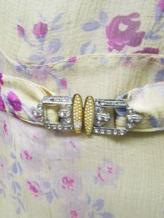 Vintage 1930's Dress Silk Chiffon Shawl by CAOLEiheartvintage