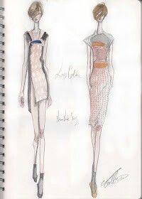 Pippa McManus Sketch Show : Louise Goldin, S/S13, New York