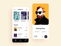 35 of the latest and most creative app UI animation design examples are introduced for you to get the best UI design inspiration. Ui Design Mobile, App Ui Design, User Interface Design, Page Design, Website Design Layout, Web Layout, Application Design, Mobile Application, App Design Inspiration