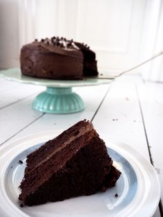 Verdens bedste chokoladekage - aka black magic kagen