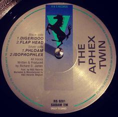 #nowspinning The Aphex Twin - Didgeridoo. R & S Records: RS 9201 (1992). It is ALL about the the the Black Side track 1 on this. Absolute monster tune from back in the day. Decimated many a party and still sounds golden. That didgeridoo sound with the fast break over the top is brutal. Chuck in some aboriginal efx's and you have a hypnotic ride through the outback. Rumour has it RDJ wrote this to finish a set to get people to go home thinking they wouldn't like it. Quite the reverse it…