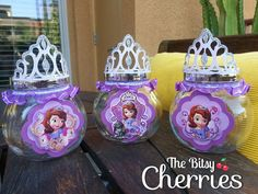 PRINCESS SOFIA FAVORS Sofia the First Favors by TheBitsyCherries