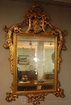 Espejo barroco del siglo XVIII