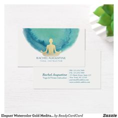 33 Best Yoga Instructor Business Cards Images On Pinterest