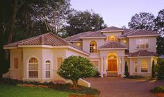 Italian Style House Plans - 5091 Square Foot Home , 2 Story, 3 Bedroom and 3 Bath, 3 Garage Stalls by Monster House Plans - Plan 28-183