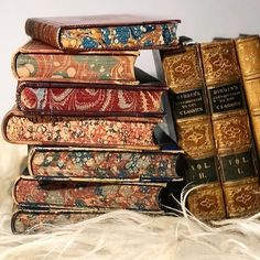 Old Books, Antique Books, Vintage Books, Book Aesthetic, I Love Reading, Book Images, Painting Edges, Book Binding, Book Journal