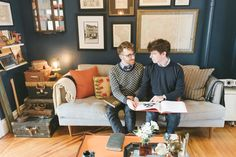 """Two Homebodies and Their """"Heavenly"""" Brooklyn Apartment — House Call"""