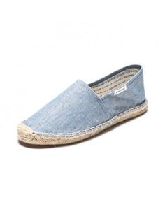 Chambray - Blue Espadrilles for Men from Soludos - Soludos Espadrilles