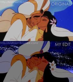 Aladdin screen cap enhancement Kiss Me Slowly by HirokoChu18.deviantart.com on @DeviantArt Disney edit