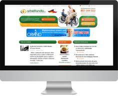 Tym razem postanowiliśmy wyjść naprzeciw osobom szukającym pracy w Niemczech w charakterze opiekunów do osób starszych. Arbeitlandia to nowoczesny portal dla właśnie takich osób. Zaprojektowaliśmy od podstaw funkcjonalność serwisu, wykonaliśmy redesign logo, szatę graficzną i oprogramowanie. Zajmujemy się również promocją witryny w Google i w mediach społecznościowych. Całość prezentuje się bardzo przejrzyście, funkcjonalnie i sami jesteśmy bardzo zadowoleni z efektów pracy :) #media…