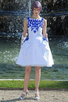 Chanel Resort 2013 Fashion Show - Saskia de Brauw