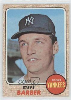 Steve Barber New York Yankees (Baseball Card) 1968 Topps #316 by Topps. $2.00. 1968 Topps #316 - Steve Barber