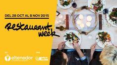 Restaurant Week Madrid y Barcelona 2015