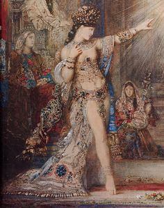 The Apparition, Gustav Moreau