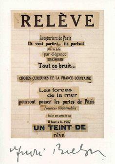 Cadavre exquis - André Breton