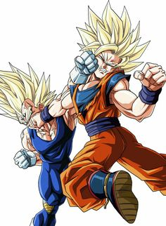 Goku vs. Majin Vegeta - Dragon ball z