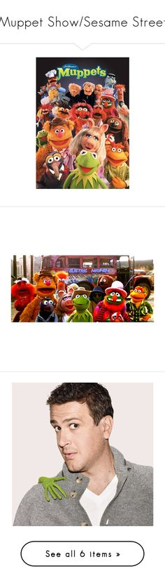 """""""Muppet Show/Sesame Street"""" by fandom-girl365790 ❤ liked on Polyvore featuring muppets, disney, Moschino Cheap & Chic, Dolce&Gabbana, Forever 21, Saks Fifth Avenue, Pia Rossini, Swarovski, Ødd. and David Yurman"""