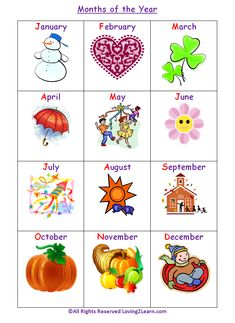 Life of Fred Apples. Months of the year in images for your months of the year poster. Ch. 3, 4, 5, 9, 15, 16. See my finished one on this board to see how I included ordinal numbers, days/month, holidays, and seasons.