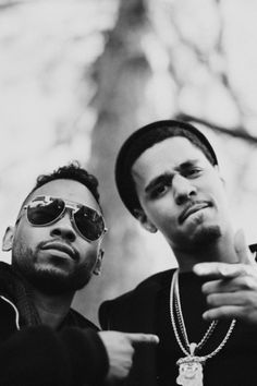 Miguel and j cole  ** Favorite hiphop artists!!