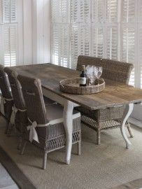Driftwood Dining Table 180/280x90 Riviera Maison
